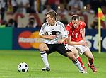 Philip Lahm, Jacek Krzynowek, Euro 2008. Germany-Poland in Klagenfurt (Austria) 06082008.
