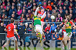 David Moran  Kerry in action against Fintan Goold Cork in the McGrath cup final at Mallow on Sunday.