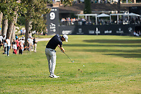 Bernd Wiesberger (AUT) in action on the 9th hole during the third round of the 76 Open D'Italia, Olgiata Golf Club, Rome, Rome, Italy. 12/10/19.<br /> Picture Stefano Di Maria / Golffile.ie<br /> <br /> All photo usage must carry mandatory copyright credit (© Golffile | Stefano Di Maria)