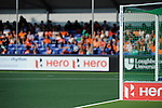 The Hague, Netherlands, June 01: The stands of the Greenfields Stadium during the field hockey group match (Men - Group B) between the Black Sticks of New Zealand and Korea on June 1, 2014 during the World Cup 2014 at GreenFields Stadium in The Hague, Netherlands. Final score 2:1 (1:0) (Photo by Dirk Markgraf / www.265-images.com) *** Local caption ***