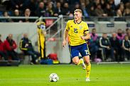 SOLNA, SWEDEN - OCTOBER 16: Oscar Hiljemark of Sweden during the UEFA International Friendly match between Sweden and Slovakia at Friends Arena on October 16, 2018 in Solna, Sweden. Photo by David Lidstrom/LP<br /> ***BETALBILD***