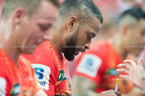 Super Rugby 2016 Sunwolves vs Bulls (27-30), March 26, 2016 - Rugby : National Stadium / Sports Hub, Singapore. (Photo by Haruhiko Otsuka/AFLO)