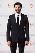 London, UK. 8 May 2016. Colin Morgan. Red carpet  celebrity arrivals for the House Of Fraser British Academy Television Awards at the Royal Festival Hall.