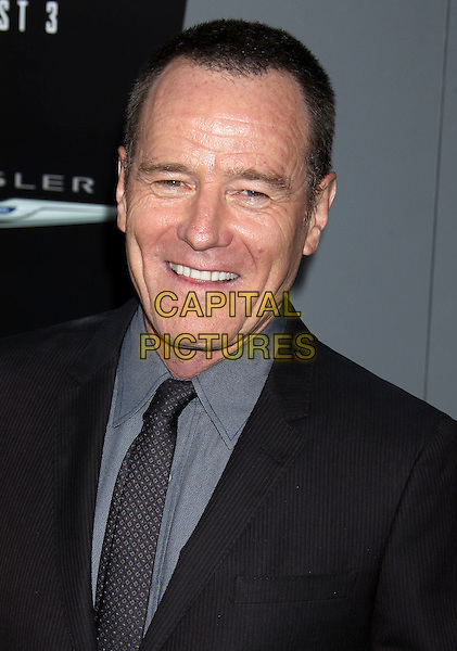 "Bryan Cranston.""Total Recall"" Los Angeles Premiere held at Grauman's Chinese Theatre, Hollywood, California, USA..August 1st, 2012.headshot portrait black blue tie grey gray.CAP/ADM/RE.©Russ Elliot/AdMedia/Capital Pictures."