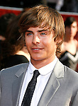 Actor Zac Efron arrives at the 2008 ESPY Awards held at NOKIA Theatre L.A. LIVE on July 16, 2008 in Los Angeles, California.