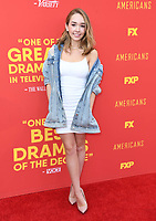 30 May 2018 - Burbank, California - Holly Taylor. FX's &quot;The Americans&quot; FYC Series Finale Event held at Saban Media Center at the Television Academy. <br /> CAP/ADM/BT<br /> &copy;BT/ADM/Capital Pictures