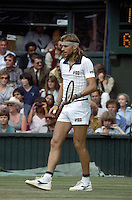 Wimbledon Championships London England 27/06/1983<br /> Bjorn Borg (SWE)<br /> Photo Roger Parker Fotosports International
