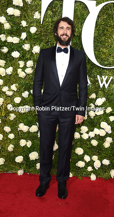 Josh Groban attends the 71st Annual  Tony Awards on June 11, 2017 at Radio City Music Hall in New York, New York, USA.<br /> <br /> photo by Robin Platzer/Twin Images<br />  <br /> phone number 212-935-0770