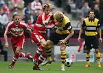 Fussball 1.BL 2007/2008 FC Bayern Muenchen - Borussia Dortmund