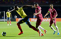 SAO PAULO – BRASIL, 19-06-2019: Colombia y Catar en partido de la Copa América Brasil 2019, grupo B, jugado en el Estadio Morumbí de Sao Paulo, Brasil. / Colombia and Qatar in Copa America Brazil 2019 group B match between Colombia and Qatar played at Morumbi stadium in Sao Paulo, Brazil. Photos: VizzorImage / Julian Medina / Contribuidor