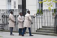 MAY 08 'Gangs of London' filming in London