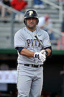 Pittsburgh Panthers infielder Anthony Defabio (6) during game against St.John's Red Storm at Jack Kaiser Stadium in Queens, New York;  May 7, 2011.  St. John's defeated Pittsburgh 7-0.  Photo By Tomasso DeRosa/Four Seam Images