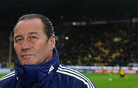 FUSSBALL   1. BUNDESLIGA   SAISON 2011/2012    14. SPIELTAG Borussia Dortmund - FC Schalke 04      26.11.2011 Trainer Huub STEVENS (Schalke)