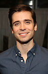 """Matt Doyle attends a press reception for the cast of The Tooting Arts Club production of """"Sweeney Todd''  at AOC L'aile ou la Cuisse on February 2, 2017 in New York City."""
