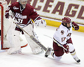 Paul Dainton (UMass - 31), Brian Gibbons (BC - 17) - The Boston College Eagles defeated the University of Massachusetts-Amherst Minutemen 5-2 on Saturday, March 13, 2010, at Conte Forum in Chestnut Hill, Massachusetts, to sweep their Hockey East Quarterfinals matchup.