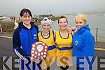 The U18 ladies from Sive Rowing Club took the Miko O'Leary Memorial Shield at the Valentia Regatta on the Bank Holiday Monday pictured here l-r; Sharon O'Sullivan, Paula O'Sullivan, Katie Pierce O'Shea & SineA?A?ad Sheahan..