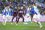 CD Leganes's  Oscar Rodriguez Arnaiz and RC Celta de Vigo's Iago Aspas during La Liga match 2019/2020 round 16<br /> December 8, 2019. <br /> (ALTERPHOTOS/David Jar)