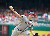 New York Mets starting pitcher Seth Lugo (67) works in the fourth inning against the Washington Nationals at Nationals Park in Washington, D.C. on Tuesday, July 4, 2017.  <br /> Credit: Ron Sachs / CNP<br /> (RESTRICTION: NO New York or New Jersey Newspapers or newspapers within a 75 mile radius of New York City)