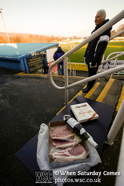 Stocksbridge Park Steels v Pickering Town, Evo-Stik East Division, 17th November 2018. Stocksbridge Park Steels were born from the works team of the local British Steel plant that dominates the town north of Sheffield.<br />