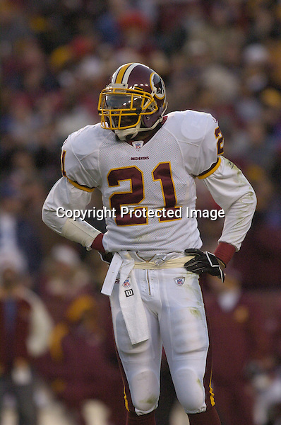 18 December 2005: Sean Taylor...The Washington Redskins defeated the Dallas Cowboys 35-7  at FedEx Field in Landover, MD.