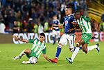 Millonarios igualó como local 0-0 ante Atlético Nacional en la final de ida de la Superliga 2018.