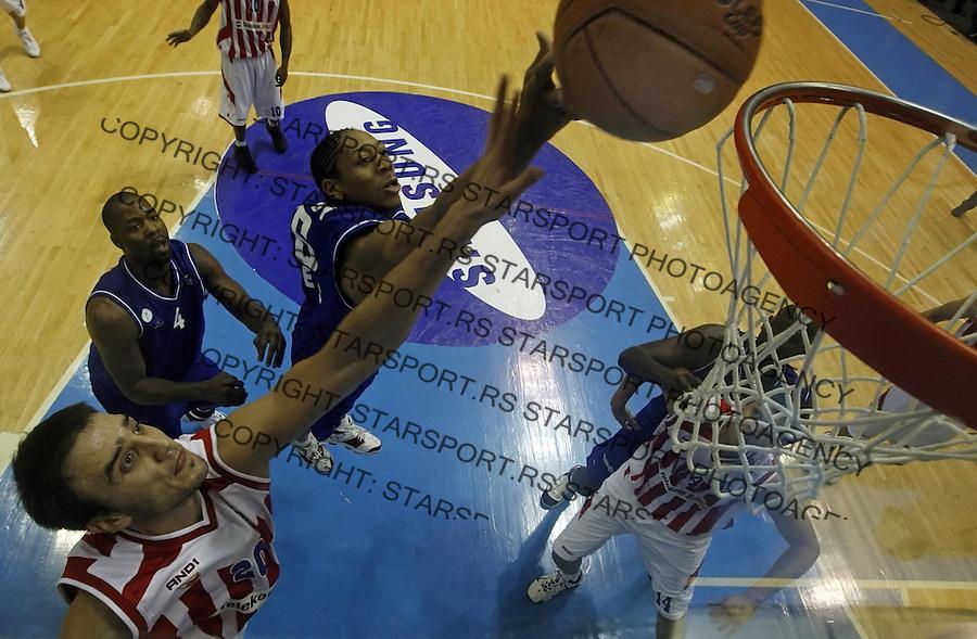 Sport Kosarka Basketball Crvena Zvezda Red Star ULEB kup Tadija Dragicevic 13.11.2007. photo: Pedja Milosavljevic