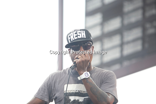 Talib Kweli Performs at the 8th Annual Rock The Bells Held on Governors Island, NY  9/3/11