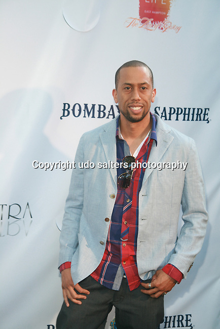 Affion Crockett Attends Russell Simmons' 12th Annual Art for Life East Hampton Benefit, NY 7/30/11