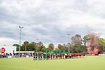 Mannheim, Germany, October 12: During the 1. Hockey Bundesliga men match between TSV Mannheim and Mannheimer HC on October 12, 2019 at TSVMH Arena in Mannheim, Germany. Final score 1-4 (HT 0-1). (Copyright Dirk Markgraf / 265-images.com) ***