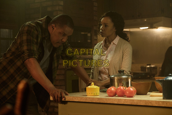 Logan (2017) <br /> Eriq La Salle &amp; Elise Neal<br /> *Filmstill - Editorial Use Only*<br /> CAP/KFS<br /> Image supplied by Capital Pictures