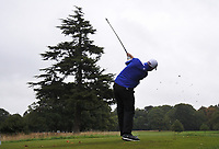 Max Orrin (ENG) on the 9th tee during Round 2 of the Bridgestone Challenge 2017 at the Luton Hoo Hotel Golf &amp; Spa, Luton, Bedfordshire, England. 08/09/2017<br /> Picture: Golffile | Thos Caffrey<br /> <br /> <br /> All photo usage must carry mandatory copyright credit     (&copy; Golffile | Thos Caffrey)