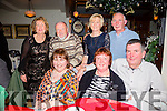 Annascaul Walkers enjoying their Christmas party on Saturday night at the Brogue Inn front l-r  Dora Kennedy, Noreen O'Leary, Larry Sayers, Marilyn Docherty, William Glasgow Howe, Helen Greensmith, John McCarthy and Tom Divane
