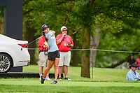 Danielle Kang (USA) watches her tee shot on 17 during Friday's round 2 of the 2017 KPMG Women's PGA Championship, at Olympia Fields Country Club, Olympia Fields, Illinois. 6/30/2017.<br /> Picture: Golffile | Ken Murray<br /> <br /> <br /> All photo usage must carry mandatory copyright credit (&copy; Golffile | Ken Murray)