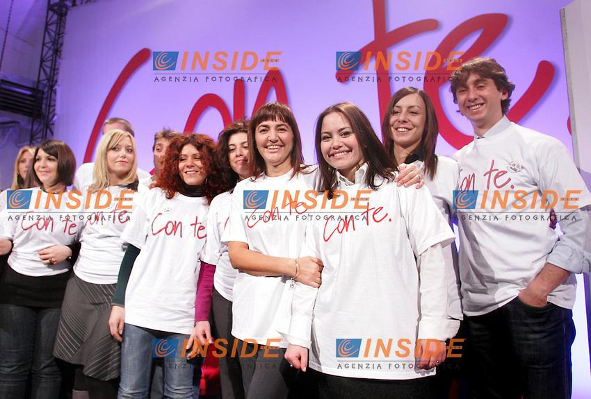 RENATA POLVERINI<br /> Roma 28/01/2010 Renata Polverini presenta il simbolo della sua candidatura.<br /> Photo Samantha Zucchi Insidefoto