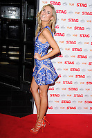 """Kimberley Garner arrives for the premiere of """"The Stag"""" at the Vue Leicester Square, London. 13/03/2014 Picture by: Steve Vas / Featureflash"""