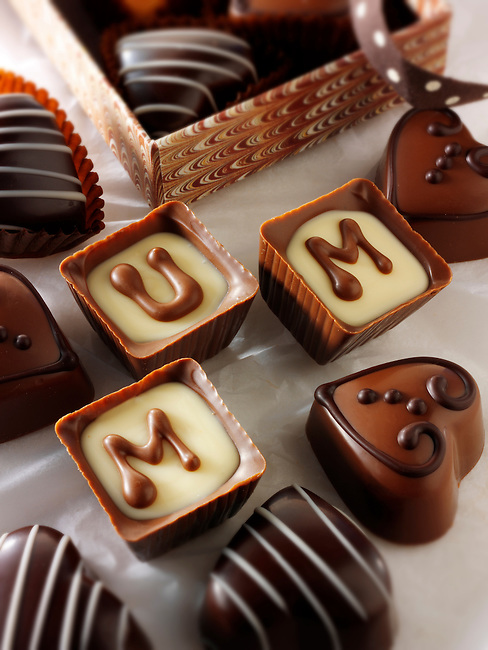 """mum"" - Mothers day chocolates"