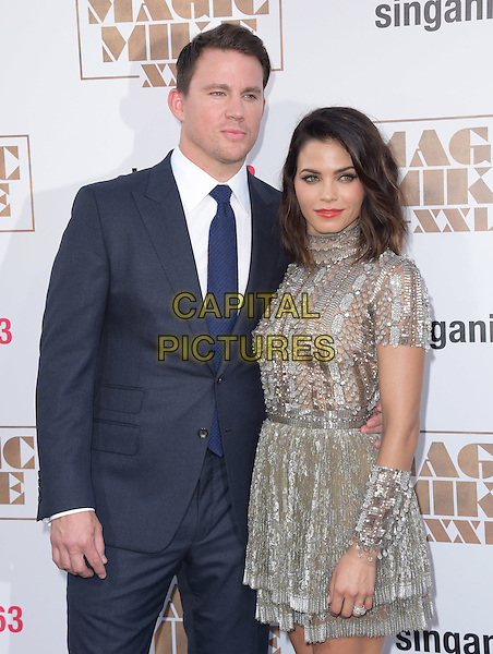 Channing Tatum and Jenna Dewan Tatum attends The Warner Bros. Pictures' L.A. Premiere of Magic Mike XXL held at The TCL Chinese Theatre  in Hollywood, California on June 25,2015  <br /> CAP/DVS<br /> &copy;DVS/Capital Pictures