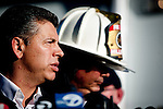 SAN BRUNO, CA - SEPTEMBER 10: Lt. Governor Abel Maldonado speaks at a press conference September 10, 2010 in San Bruno, California. A massive explosion rocked a neighborhood near San Francisco International Airport, destroying 37 homes, killing at least 4 people, and injuring at least 50.
