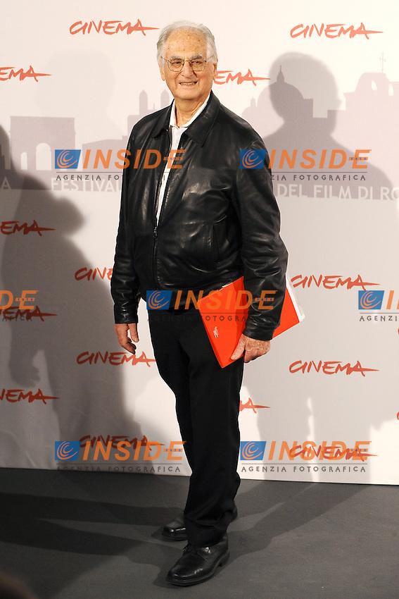 Ulu GROSBARD.International Giury - Giuria Internazionale.Roma 28/10/2010.Cinema - Festival Internazionale del Film di Roma.Foto Andrea Staccioli Insidefoto