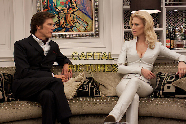 Kevin Bacon & January Jones.in X-Men: First Class.*Filmstill - Editorial Use Only*.CAP/PLF.Supplied by Capital Pictures.