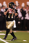 4 November 2006: Wake Forest quarterback Riley Skinner. Wake Forest defeated Boston College 21-14 at Groves Stadium in Winston-Salem, North Carolina in an Atlantic Coast Conference college football game.