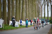 leaders descending into Nokere<br /> <br /> Nokere Koerse 2014