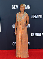 "LOS ANGELES, USA. October 07, 2019: Jada Pinkett Smith at the premiere of ""Gemini Man"" at the TCL Chinese Theatre, Hollywood.<br /> Picture: Paul Smith/Featureflash"