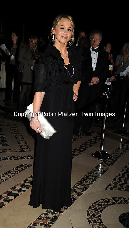 Christine Taylor ..posing for photographers at The Museum of the Moving Image salute to Ben Stiller on November 12, 2008..at Cipriani's 42nd Street in New York City. ....Robin Platzer, Twin Images