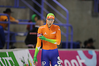 SCHAATSEN: CALGARY: Olympic Oval, 08-11-2013, Essent ISU World Cup, 500m, Margot Boer (NED), ©foto Martin de Jong