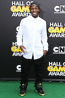 SANTA MONICA, CA, USA - FEBRUARY 15: Shameik Moore at the 4th Annual Cartoon Network Hall Of Game Awards held at Barker Hangar on February 15, 2014 in Santa Monica, California, United States. (Photo by David Acosta/Celebrity Monitor)
