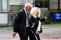 2018 09 21 Avril Griffiths and Peter Griffiths, Cardiff Crown Court, Cardiff, South Wales, UK.