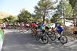 Riders climb Sierra de la Alfaguara during Stage 4 of the La Vuelta 2018, running 162km from Velez-Malaga to Alfacar, Sierra de la Alfaguara, Andalucia, Spain. 28th August 2018.<br /> Picture: Eoin Clarke   Cyclefile<br /> <br /> <br /> All photos usage must carry mandatory copyright credit (&copy; Cyclefile   Eoin Clarke)
