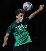 Jonathon McBride, Lake Orion, goes up for a header pass during varsity soccer action at Birmingham Groves High School Tuesday, Sept. 26, 2017. Photos: Larry McKee, L McKee Photography. PLEASE NOTE: ALL PHOTOS ARE CUSTOM CROPPED. BEFORE PURCHASING AN IMAGE, PLEASE CHOOSE PROPER PRINT FORMAT TO BEST FIT IMAGE DIMENSIONS. L McKee Photography, Clarkston, Michigan. L McKee Photography, Specializing in Action Sports, Senior Portrait and Multi-Media Photography. Other L McKee Photography services include business profile, commercial, event, editorial, newspaper and magazine photography. Oakland Press Photographer. North Oakland Sports Chief Photographer. L McKee Photography, serving Oakland County, Genesee County, Livingston County and Wayne County, Michigan. L McKee Photography, specializing in high school varsity action sports and senior portrait photography.