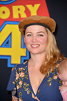 "LOS ANGELES, USA. June 12, 2019: Erika Christensen at the world premiere of ""Toy Story 4"" at the El Capitan Theatre.<br /> Picture: Paul Smith/Featureflash"